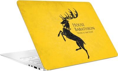 AV Styles House Baratheon Yellow Vinyl Laptop Decal 15.6