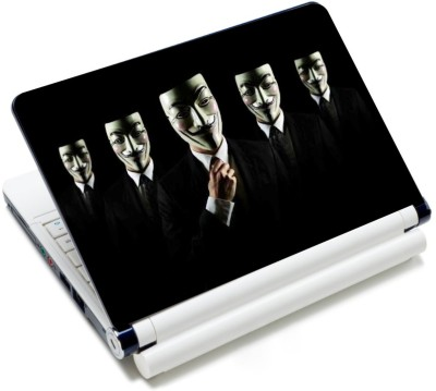 CrazyLiner Anonymous Gentle Vinyl Laptop Decal 15.6