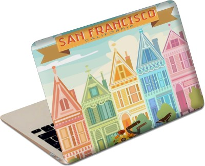 The Fappy Store San Francisco Vinyl Laptop Decal