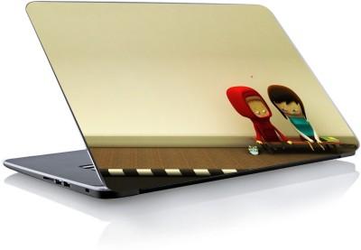Devendra Graphics Sad Couple Vinyl Laptop Decal 15.6