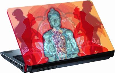Sab Kuch Print Shri Budh 256 Polyester Laptop Decal