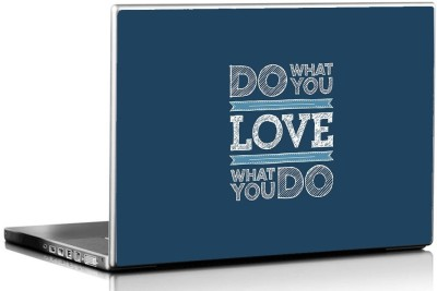 Seven Rays Do What You Love Vinyl Laptop Decal 15.6