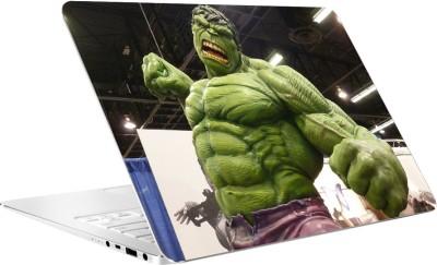 AV Styles Hulk Punching By Av Styles Vinyl Laptop Decal 15.6