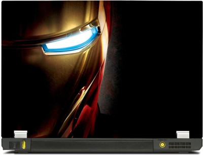 Skinkart Ironman Half Face Vinyl Laptop Decal (All Laptops with screen size upto 13.3 inch)