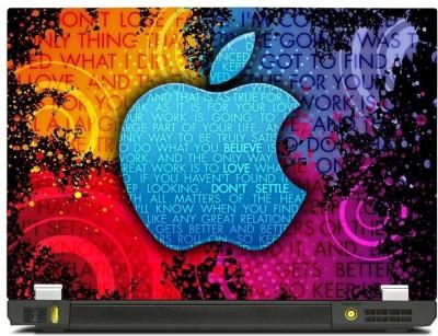 Skincentral Skinkart Elegant Apple Graphic Vinyl Laptop Decal