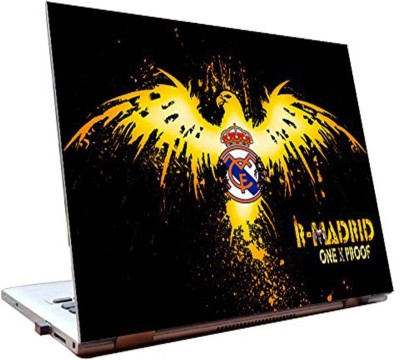 Dealmart Laptop Skins 15.6 inch - Real Madrid FC - Logo - HD Quality Vinyl Laptop Decal