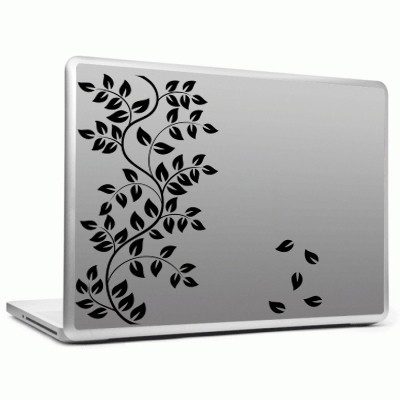 Decor Kafe branch with full of leaves Sticker Self Adhesive Vinyl Laptop Decal 15.6