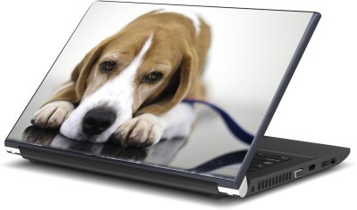 Artifa Cute Dog Fabulous Vinyl Laptop Decal 15.6