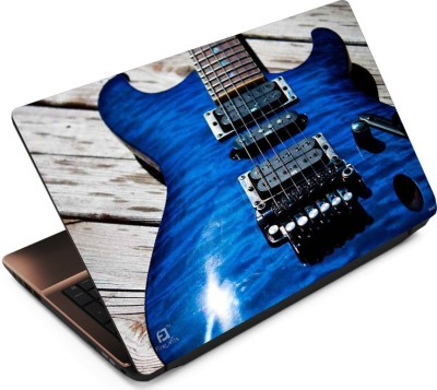 FineArts Blue Guitar Vinyl Laptop Decal