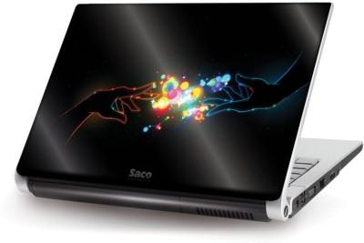 Saco Metallic Skin-46 Metallic PET Laptop Decal 15.6