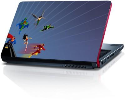 Shopkeeda Super Heros Vinyl Laptop Decal 15.6