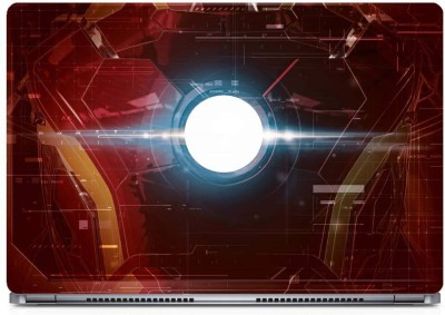 Marvel Iron Sheild Vinyl Laptop Decal 15.6