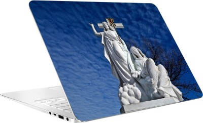 AV Styles Jesus Christ Statue By Av Styles Vinyl Laptop Decal 15.6