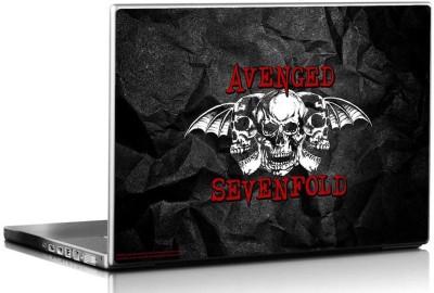 Bravado Avenged SevenFold Three Skulls Vinyl Laptop Decal 15.6