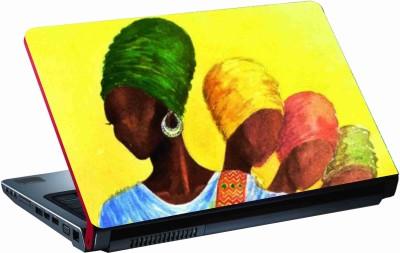 Sab Kuch Print cute girls 344 Polyester Laptop Decal 14.1