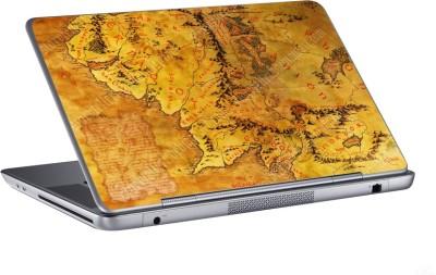 AV Styles treasure hunt map skin Vinyl Laptop Decal 15.6