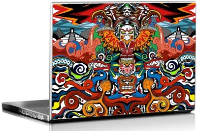 Seven Rays Mcmayan Red Vinyl Laptop Decal 15.6