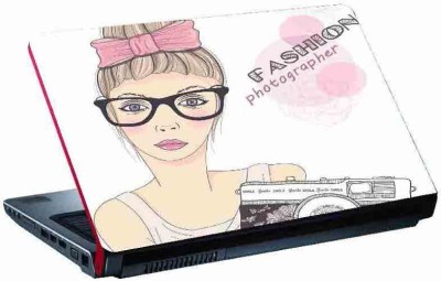 virtual prints fashion photographer digitally printed Laptop Decal 15