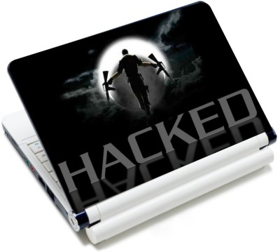 CrazyLiner Hacked Vinyl Laptop Decal 15.6