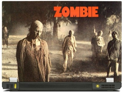 Skinkart Zombie Laptop Skin Type 18 (Screen Size 15.6 inch) Premium quality Imported Vinyl Laptop Decal 15.6