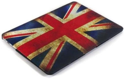 Gmyle Vintage Union Jack UK Rubber Laptop Decal 13.3