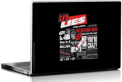 Bravado Guns N Roses Lies Vinyl Laptop Decal 15.6