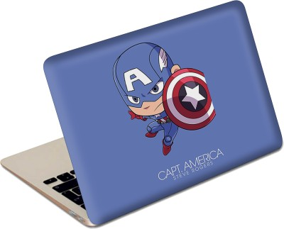 The Fappy Store Captain America Vinyl Laptop Decal