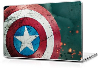 Automers Skin of American Shield - 15 Inches to 15.6 Inches - Reusable High Quality 3M Vinyl Laptop Decal 15.6