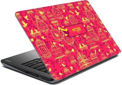 meSleep Ethnic Birds for Riya Vinyl Laptop Decal 15.6