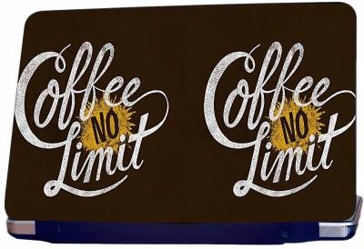 Incraze Coffee no limit Vinyl Laptop Decal 15.6