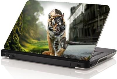 Swati Graphics SGLS042 Amazing Tiger Vinyl Laptop Decal 15.6