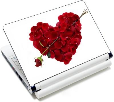 WoWCreations Roseful Heart Vinyl Laptop Decal 15.6
