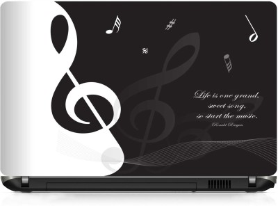 Shopmillions Life Is A Sweet Song Vinyl Laptop Decal 15.6