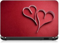 VI Collections HEART IN PAPER HEART pvc Laptop Decal 15.6 best price on Flipkart @ Rs. 199