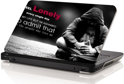 Swati Graphics Sgls067 Lonely Vinyl Laptop Decal 15.6