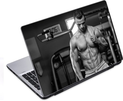 ezyPRNT Workout Completed (14 to 14.9 inch) Vinyl Laptop Decal 14