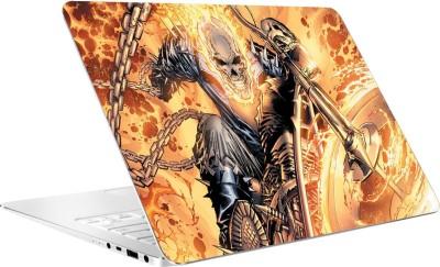 AV Styles Ghost Rider Vs Blue Ghost Rider Vinyl Laptop Decal