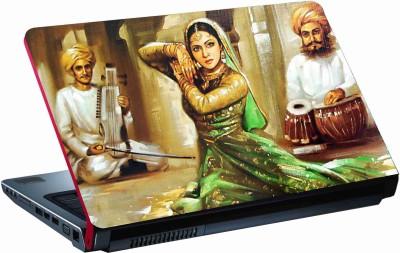 Sab Kuch Print Dance 222 Polyester Laptop Decal
