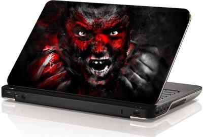Swati Graphics Sgls061 Red Man Vinyl Laptop Decal 15.6