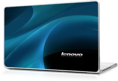 Automers Skin of lenevo blue wave - Reusable High Quality 3M Vinyl Laptop Decal 15.6