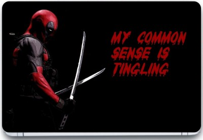Trendsmate Deadpool Sense tingling 3M Vinyl and Lamination Laptop Decal 15.6