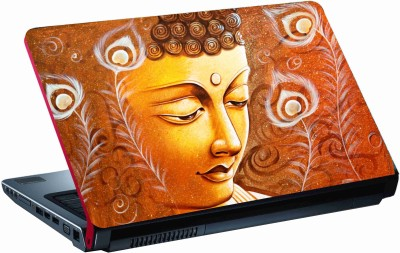 Sab Kuch Print Gautam Budha Potrait 65 Polyester Laptop Decal 14.1