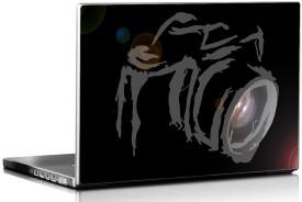 Printstore Lens Camera Vinyl Laptop Decal