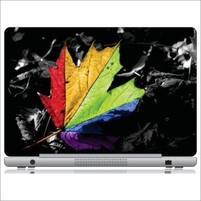 Printland Colored Leaf Skin LS121207 Vinyl Laptop Decal 12
