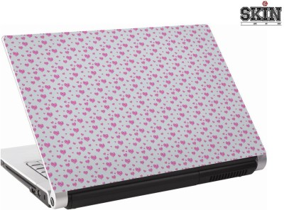 142Skin heartpatternpink Vinyl Laptop Decal