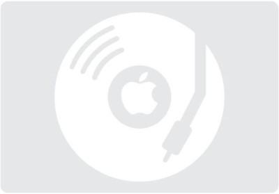 Engrave DJ Apple Vinyl Laptop Decal
