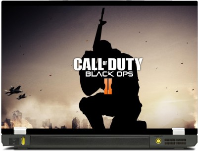 SkinShack Call Of Duty COD Black Ops 2 Gamer (14.1 inch) Vinyl Laptop Decal 14.1