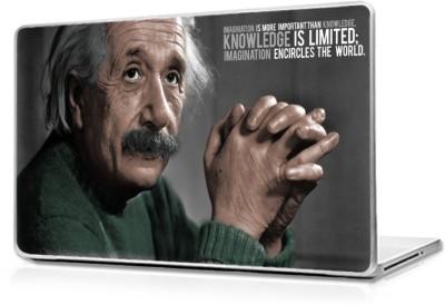 Global Einstine motivational quote Vinyl Laptop Decal