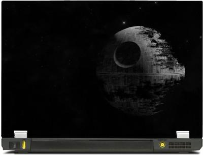 SkinShack New 3D Death Star Star Wars (17 inch) Vinyl Laptop Decal