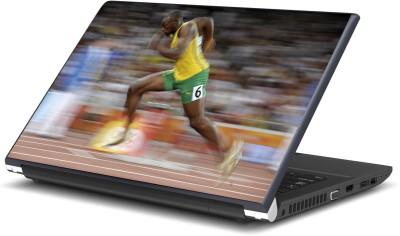 Artifa Usain Bolt Running Fabulous Vinyl Laptop Decal 15.6